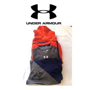 Under Armour Matching Sets - 4 PCs of Under Armour. Short,shirts, sweatshirt